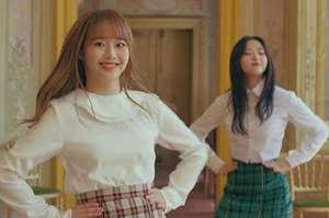 loona in their love4eva music video