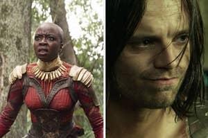 Okoye and Bucky