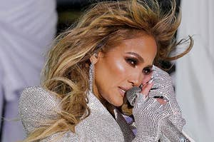 Jennifer Lopez performs live on New Year's Eve in Times Square