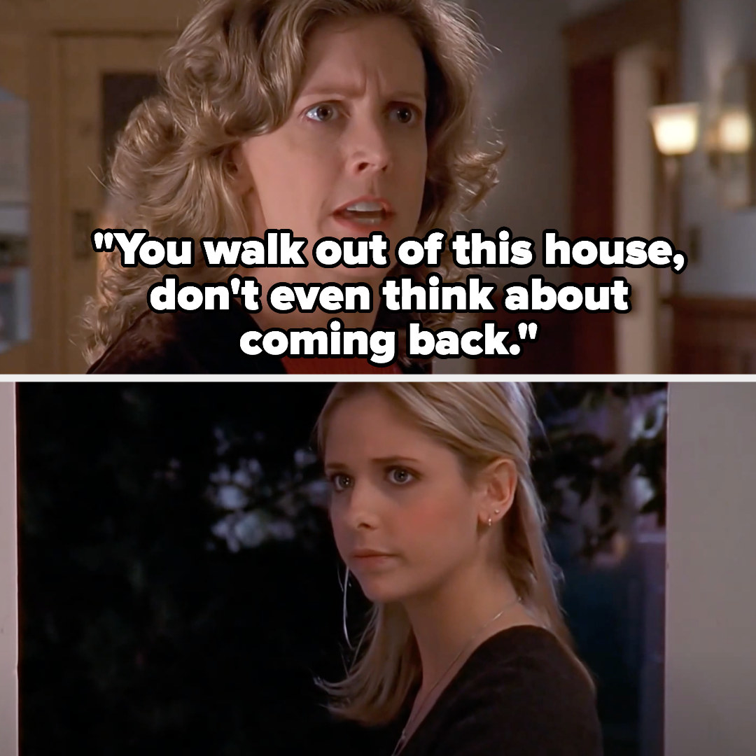 """Joyce says """"You walk out of this house, don't even think about coming back"""""""