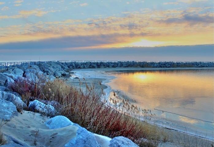 The shoreline of Lexington
