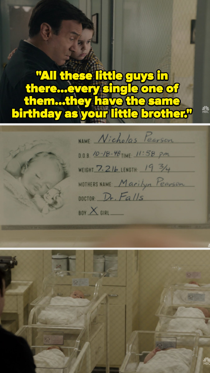 Jack's father shows him the other babies born on October 18