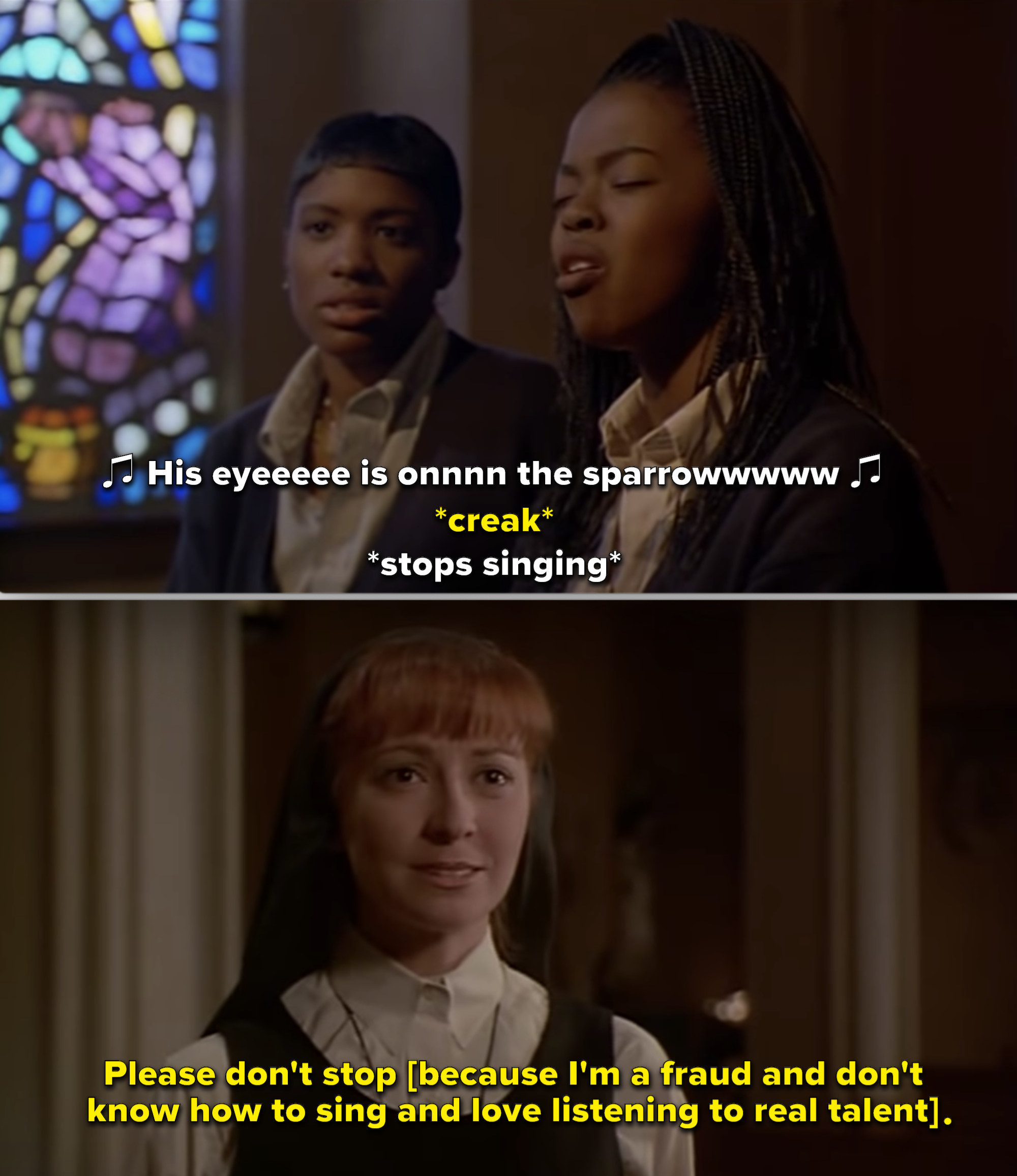 """Sister Mary Robert in """"Sister Act 2"""""""