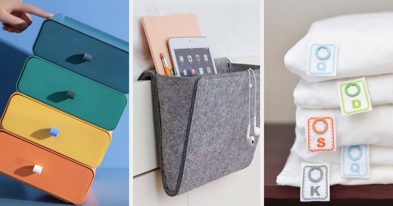 27 Absolutely Brilliant Products That'll Help You Crush The Organization Game