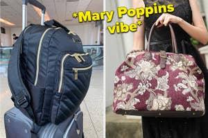 A split thumbnail of two bags