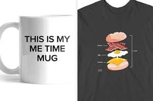 mug and shirt