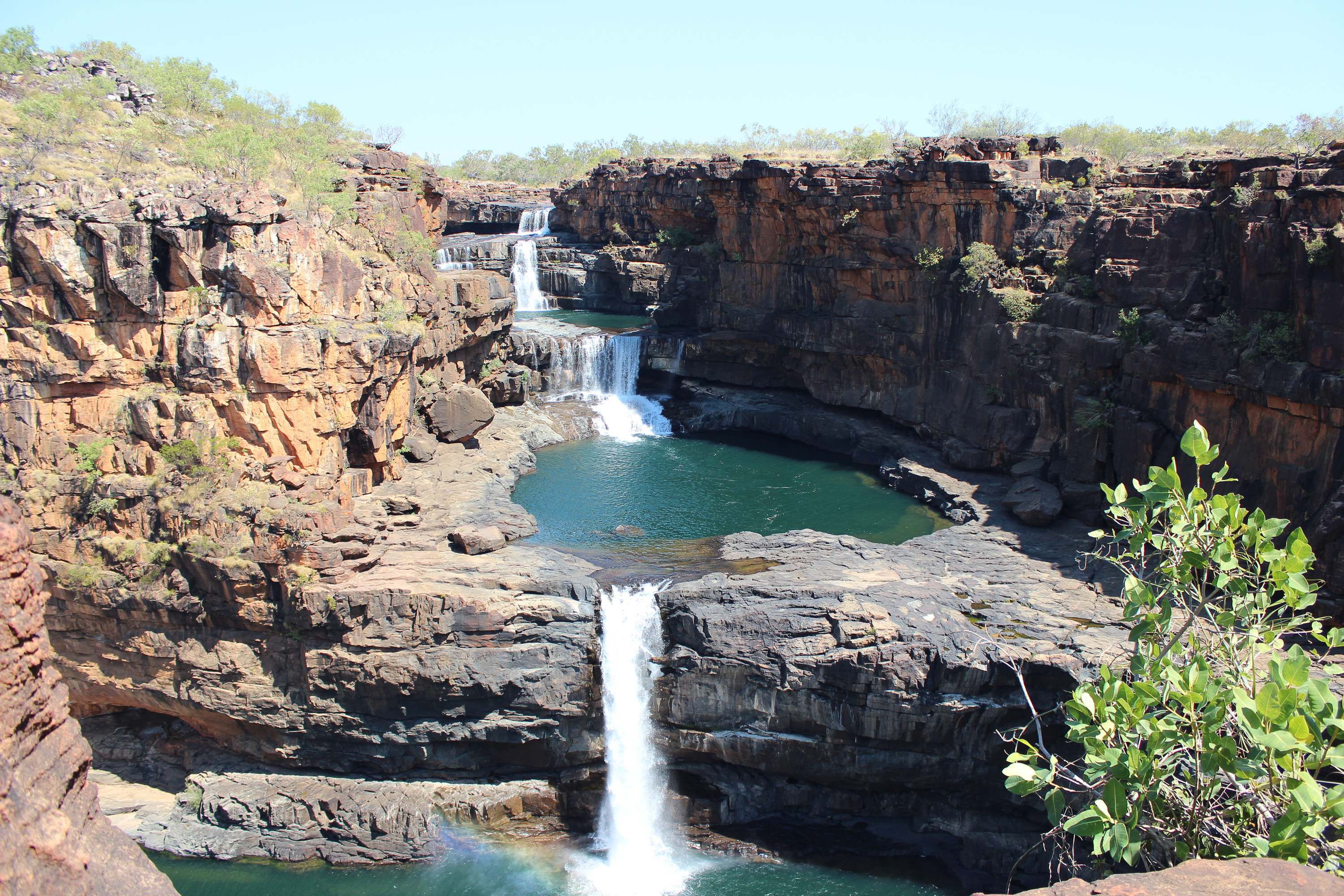 Mitchell falls in the kimberly