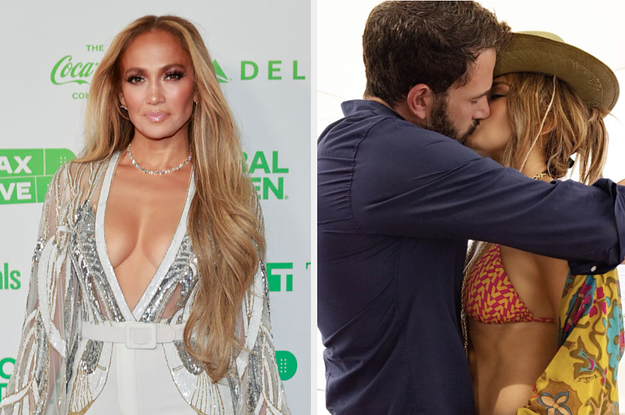 """Ben Affleck Gifted Jennifer Lopez A Custom Necklace For Her 52nd Birthday To Represent Their """"Love"""" And """"Capacity For Change And Growth"""""""