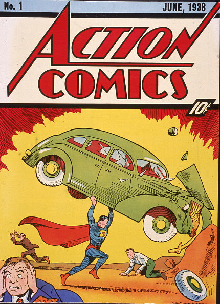 the cover of Action Comics Number 1