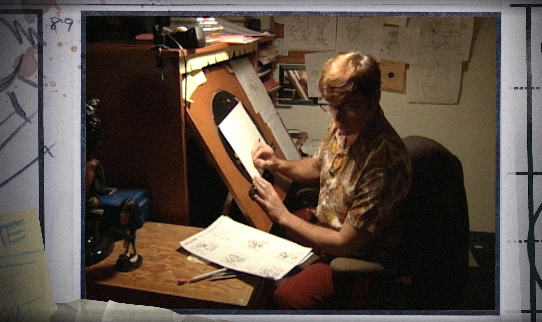 John Kricfalusi storyboarding for Ren