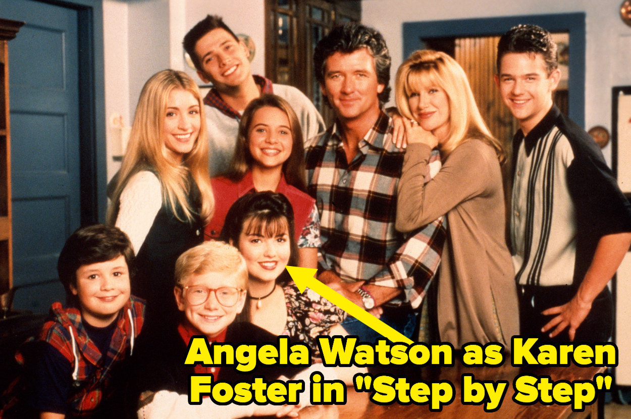 """The cast of """"Step by Step"""""""