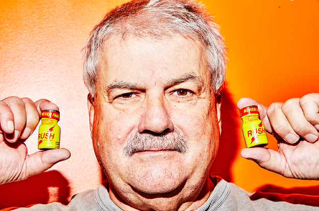 This Man Does Not Make Poppers