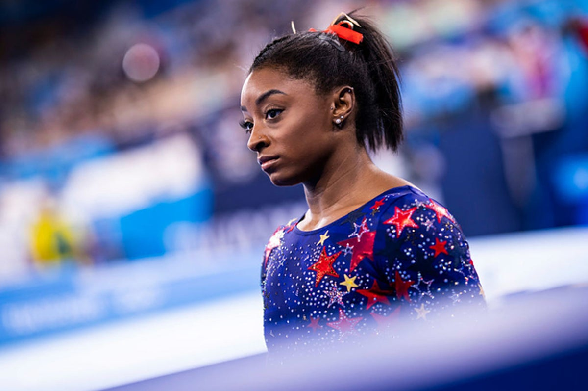 Simone Biles Pulled Out Of The Women�s Gymnastics Team Final Due To Mental Health Concerns