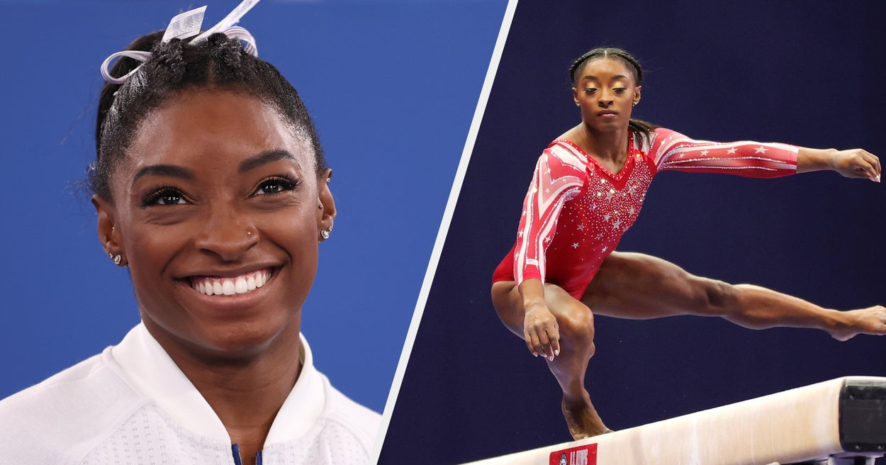 Simone Biles Withdrew From The Women's Gymnastics Team Final, So Here At 20 Photos To Remind You Why She's Still The GOAT