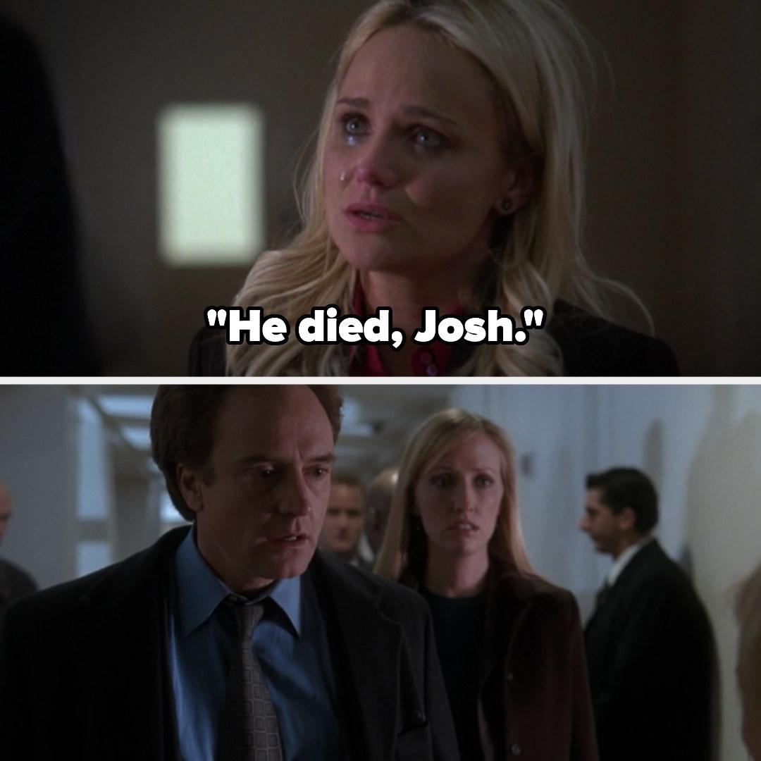 Annabeth tells Josh that Leo is dead