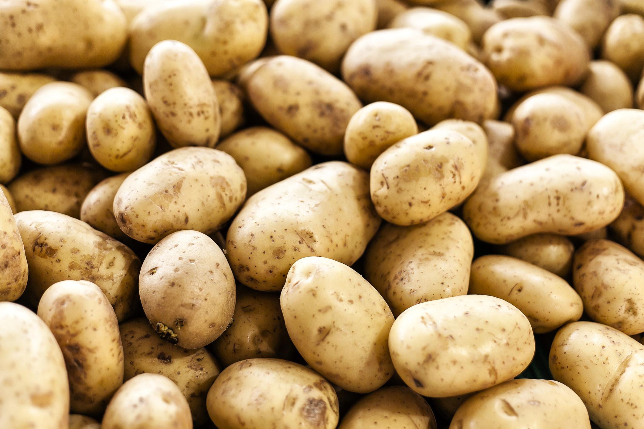 numerous potatoes