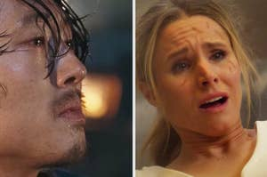 Glenn from The Walking Dead and Veronica from Veronica Mars