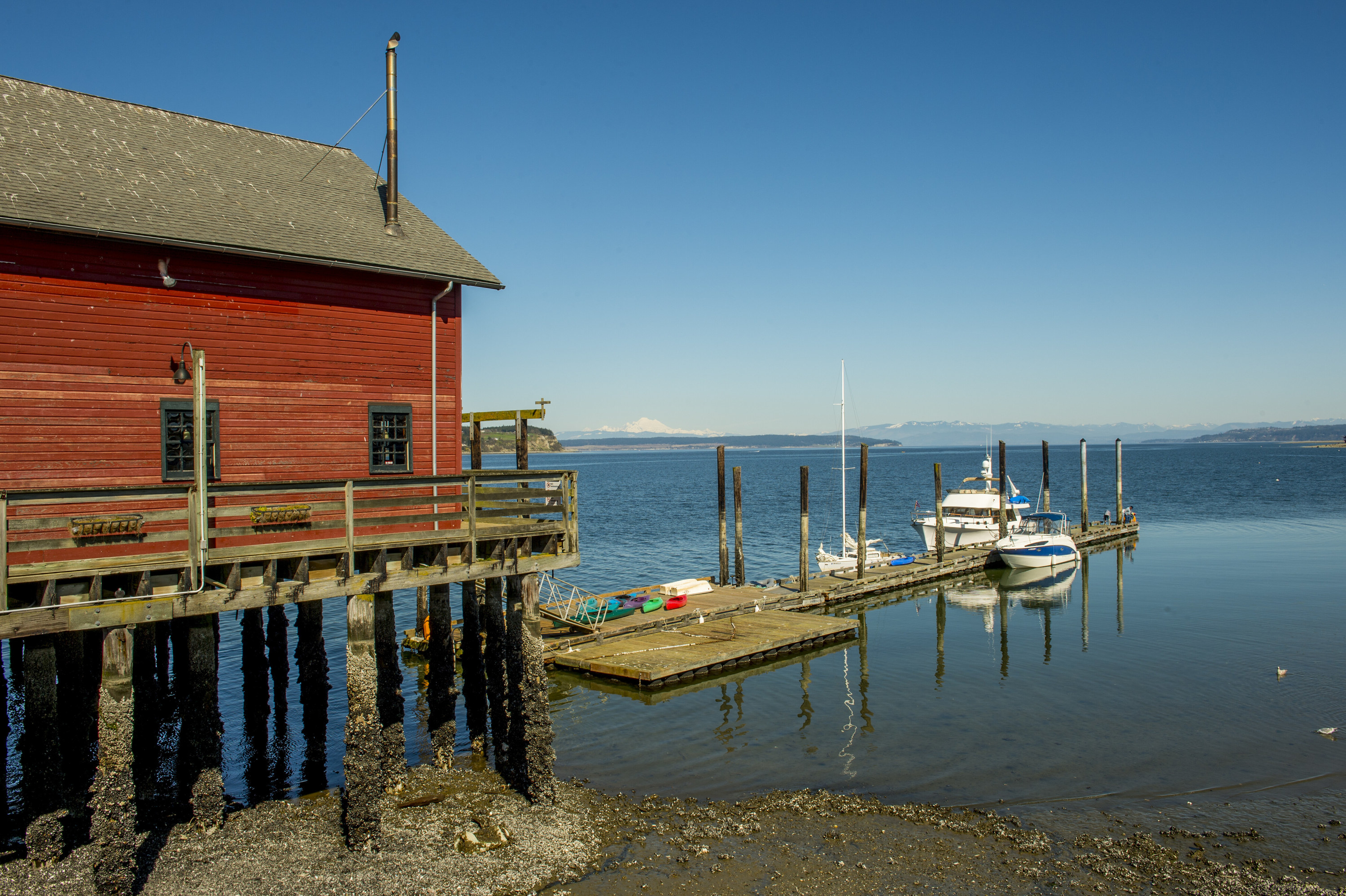 The wharf in Coupeville