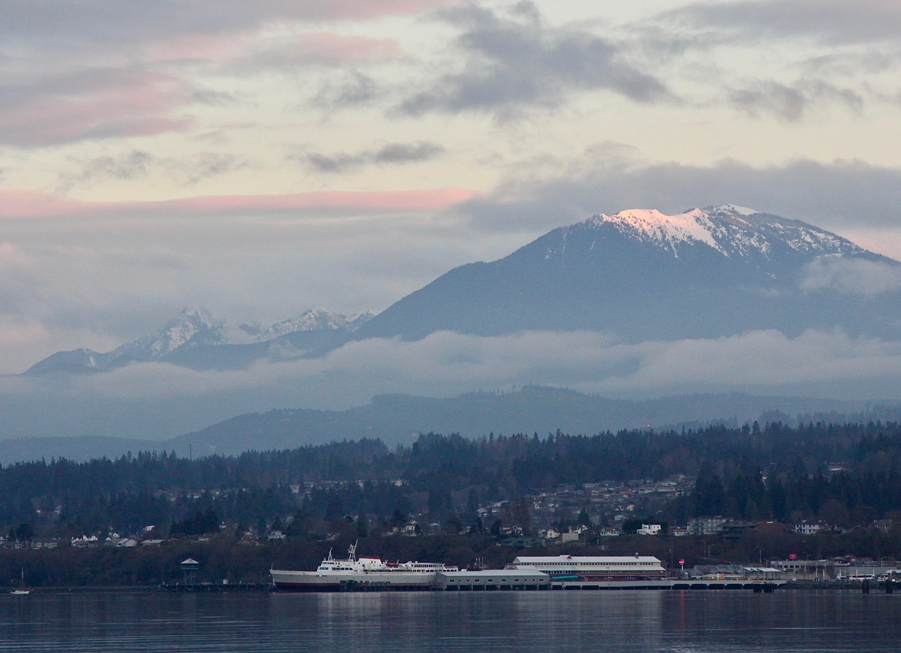 Mountains by Port Angeles