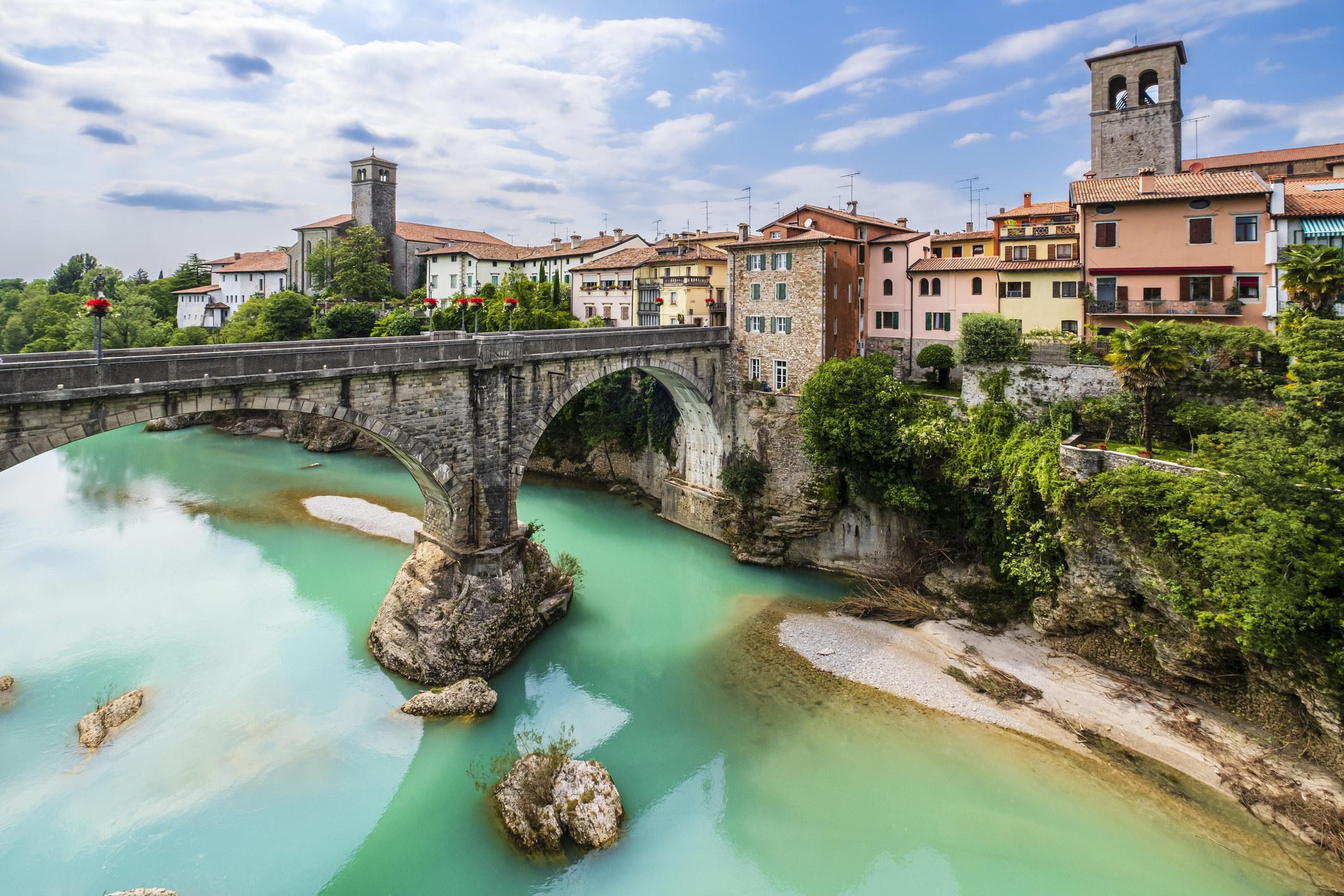 Devil's Bridge in Friulli.