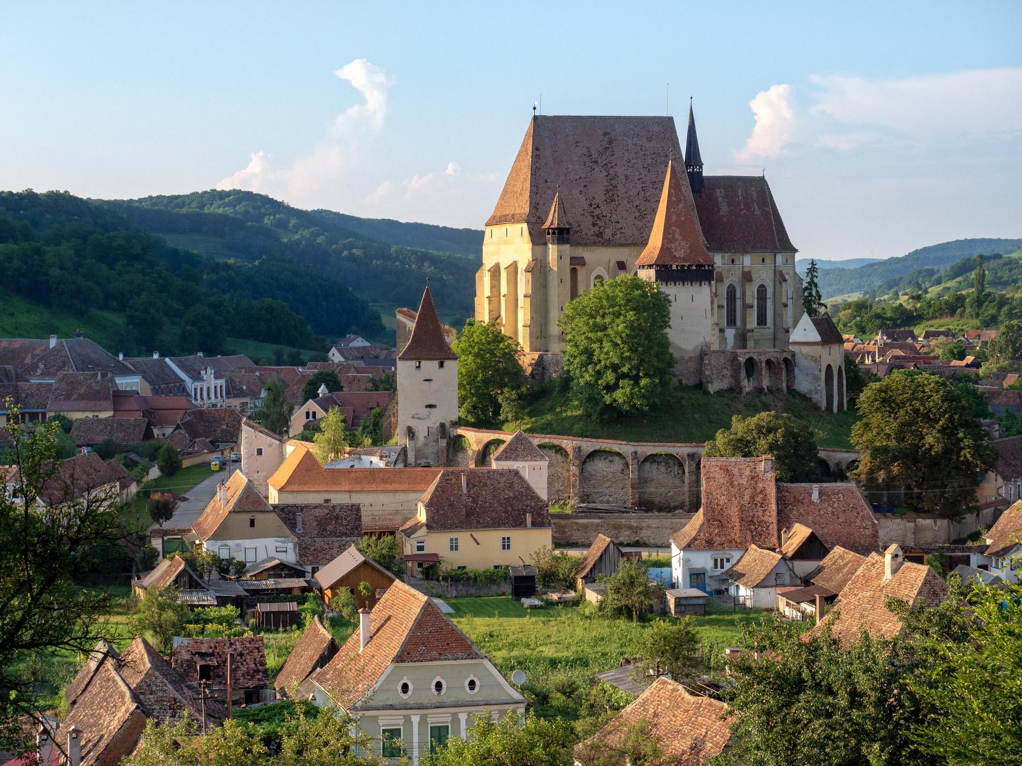 A UNESCO World Heritage Site in Transylvania, Romania.