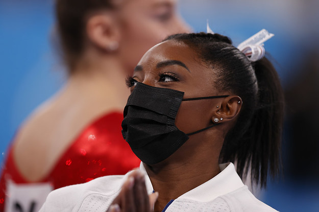 Simone Biles Withdrew From The Individual All-Around Gymnastics Final