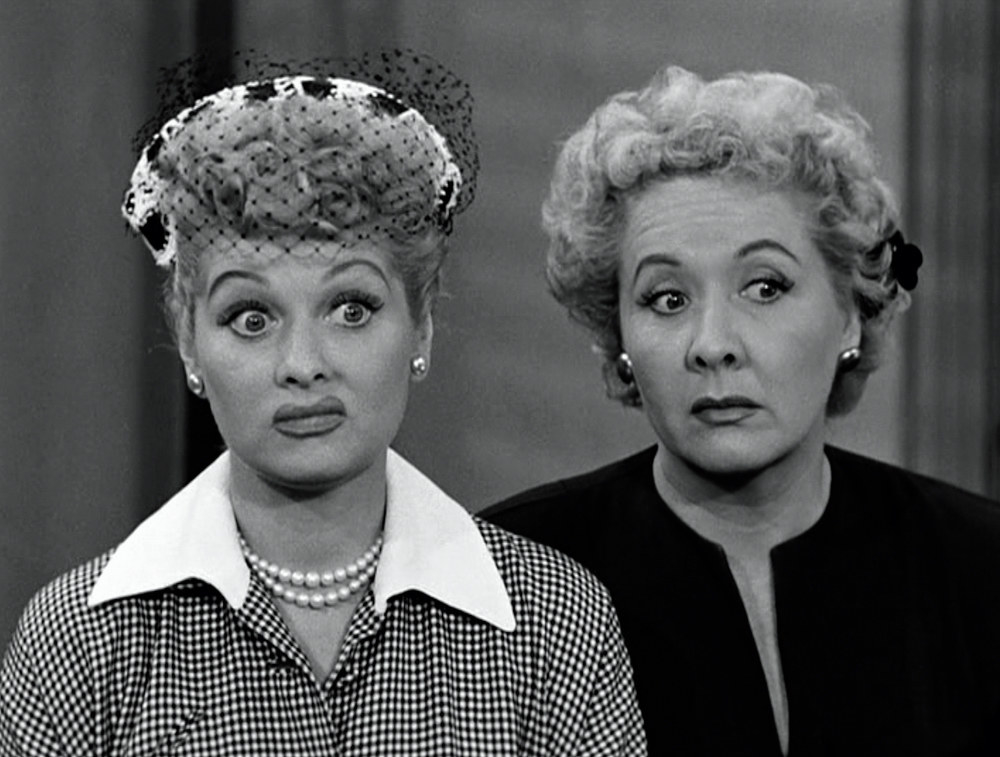 lucy and ethel have raised brows