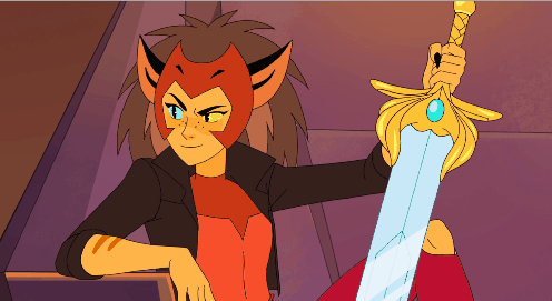 Catra with sword