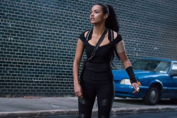 Tabitha Galavan stepped out from a one-dimensional character to a courageous with a great bisexual representation.