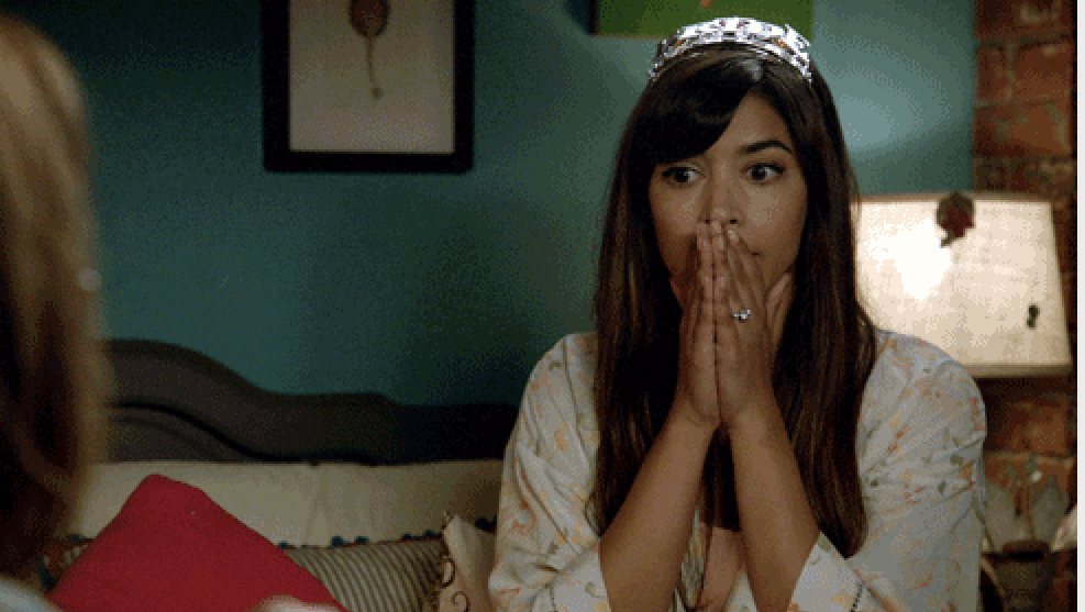 frustrated cece from new girl