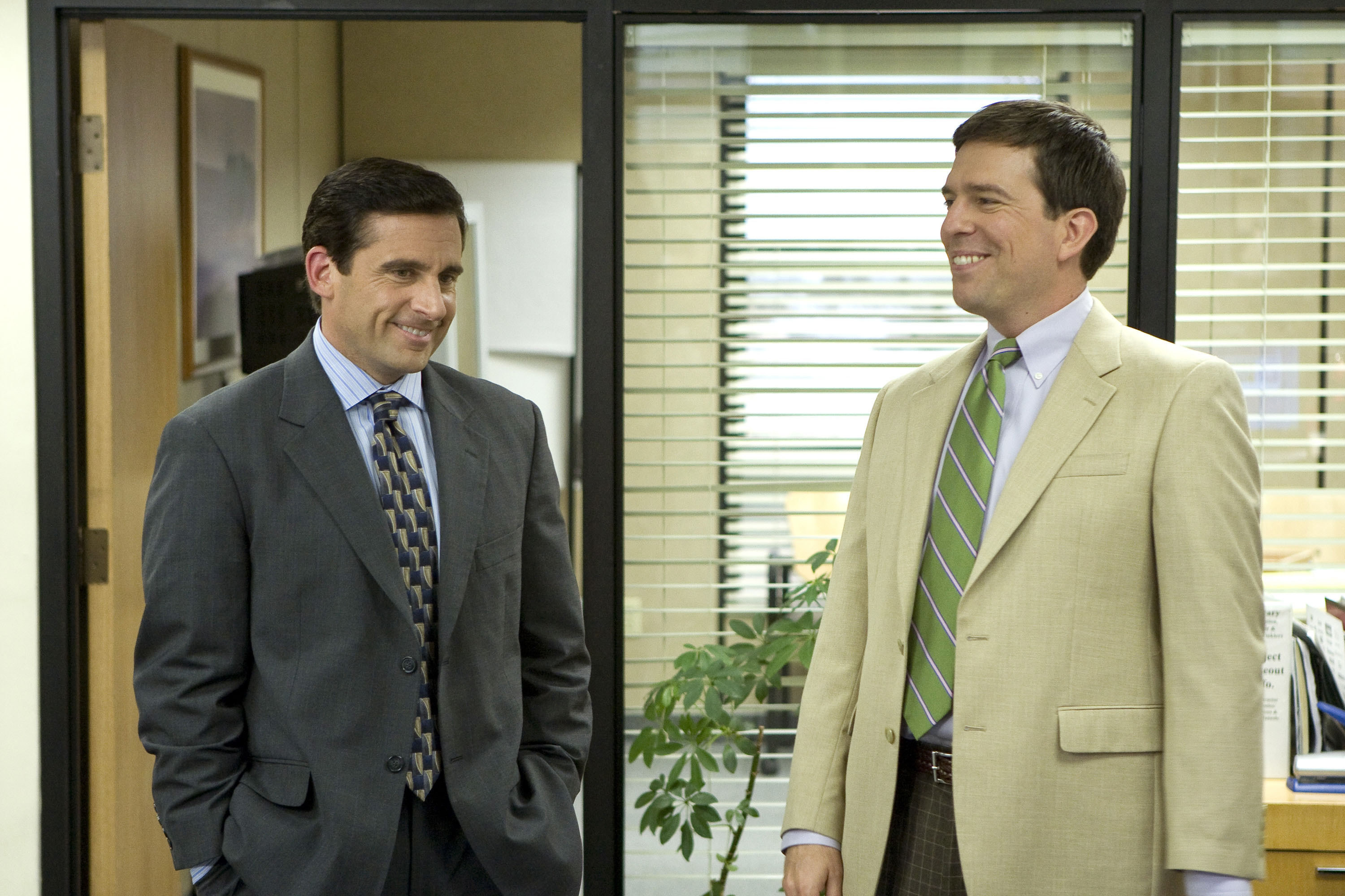 """Michael Scott and Andy Bernard on """"The Office"""""""