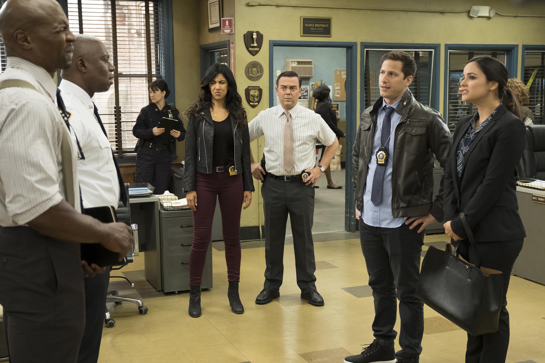 The cast of Brooklyn Nine Nine