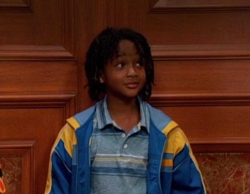 Jaden Smith stands in an elevator