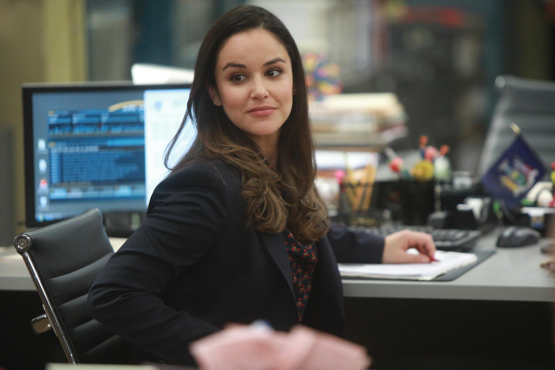 Melissa Fumero as Amy Santiago