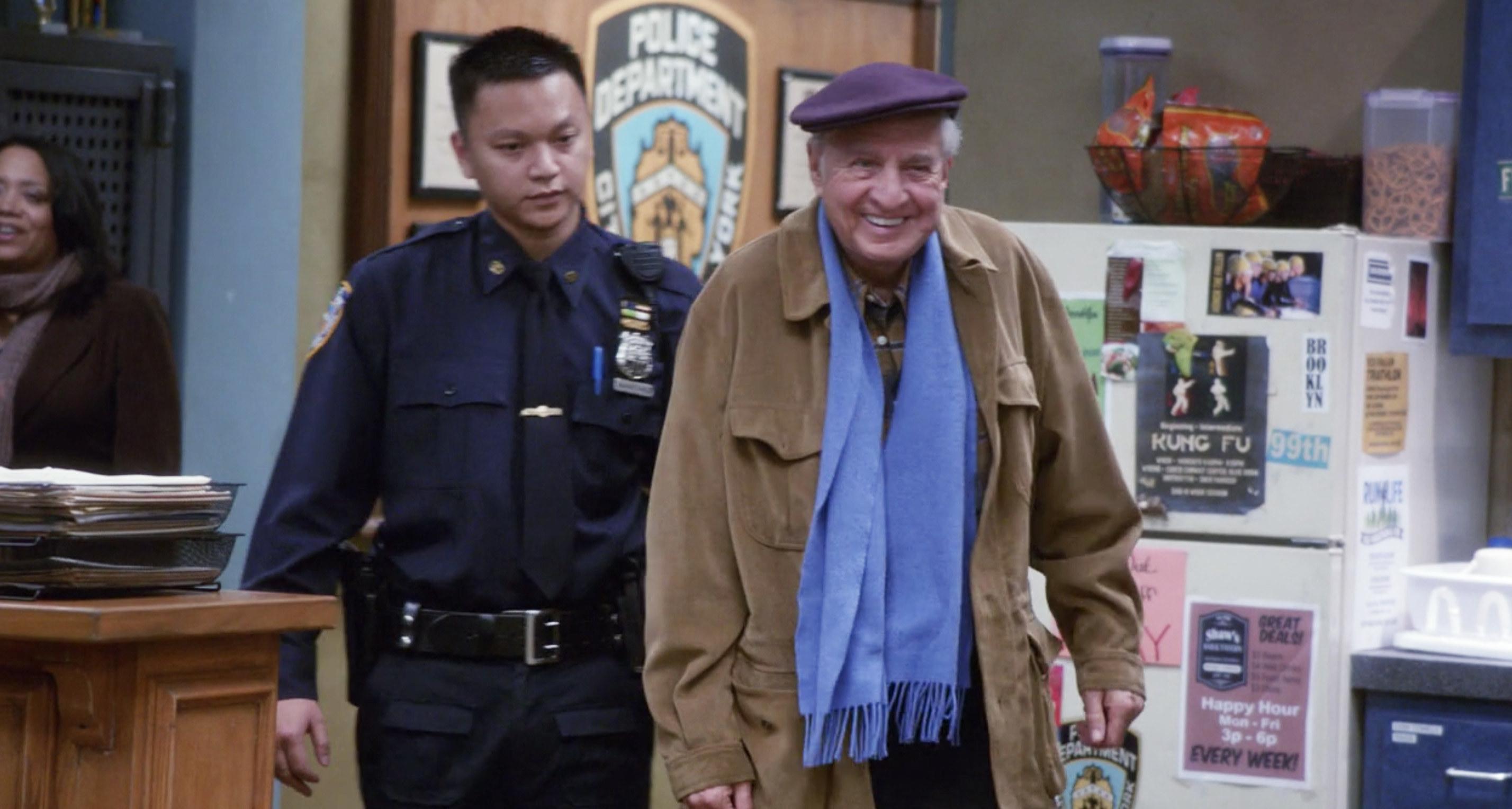 Garry Marshall on Brooklyn Nine Nine