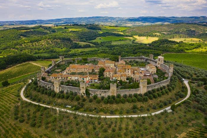 Monteriggiori in Tuscany Italy