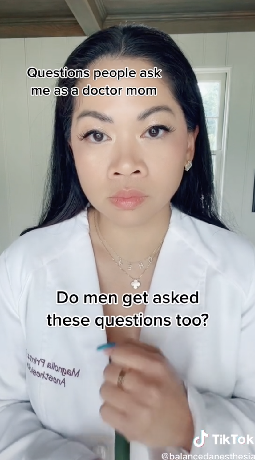 Do men get asked these questions too?