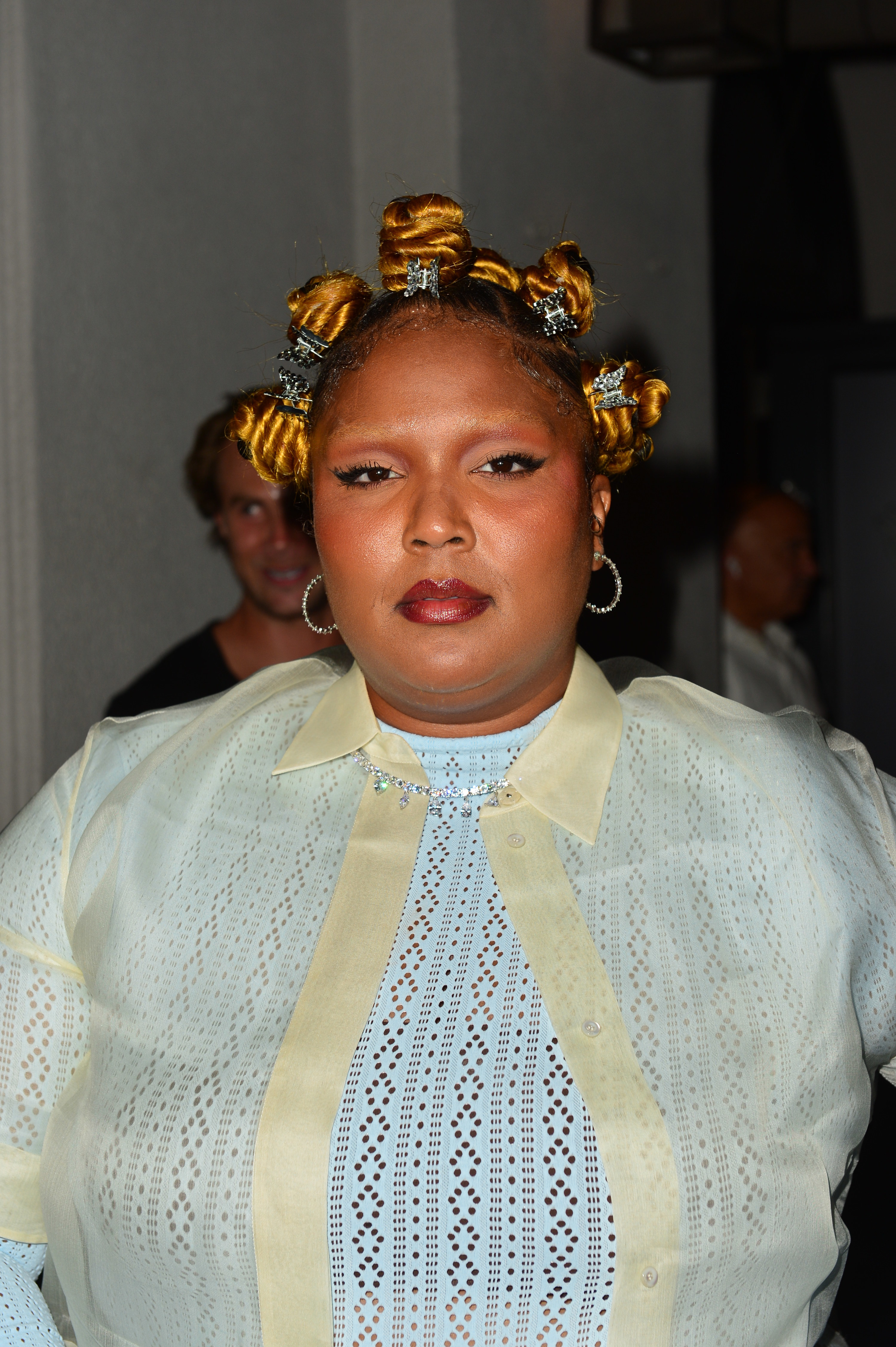 Lizzo is photographed in Los Angeles in July 2021