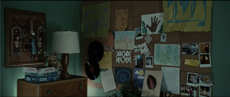 Bella's bulletin board