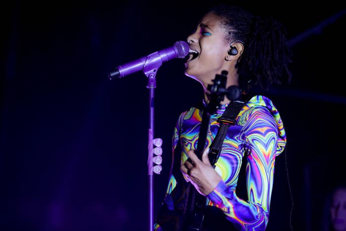 Willow Smith performs onstage in 2019