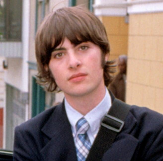Michael in his school uniform