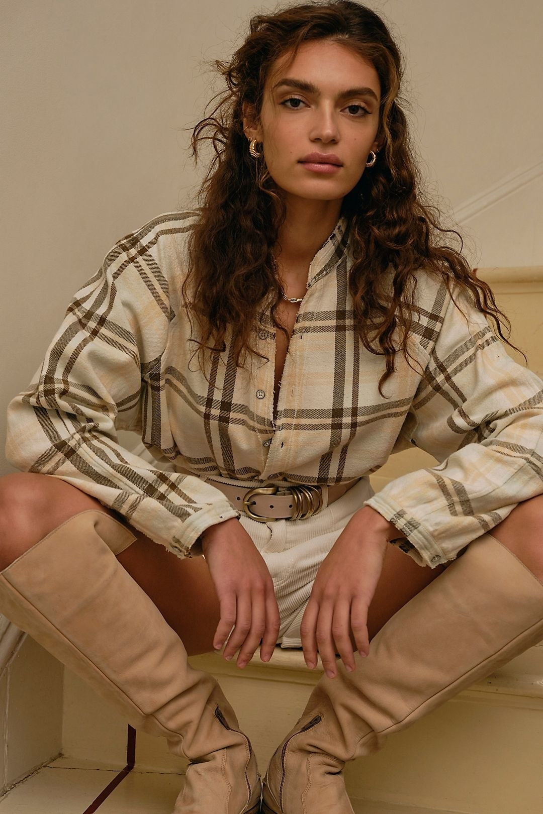 model wearing a