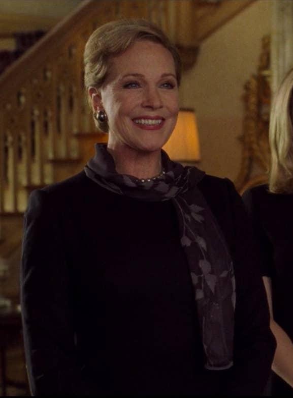 Queen Clarisse smiling