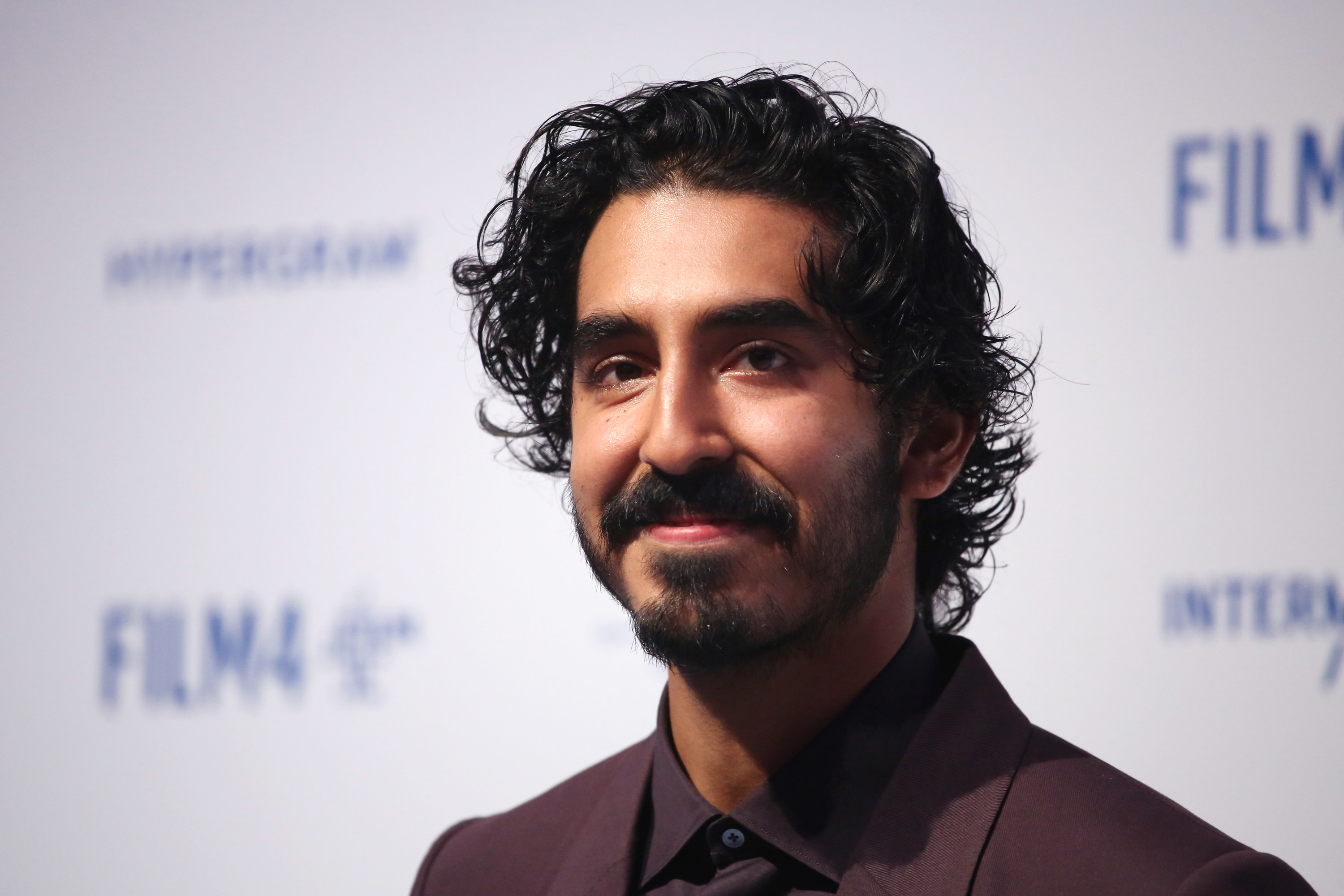 Dev Patel is pictured on the red carpet at the British Independent Film Awards in 2019