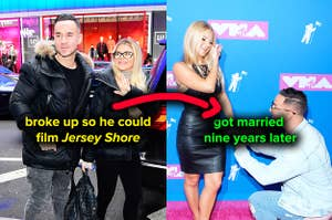 Mike and Lauren Sorrentino broke up so he could film
