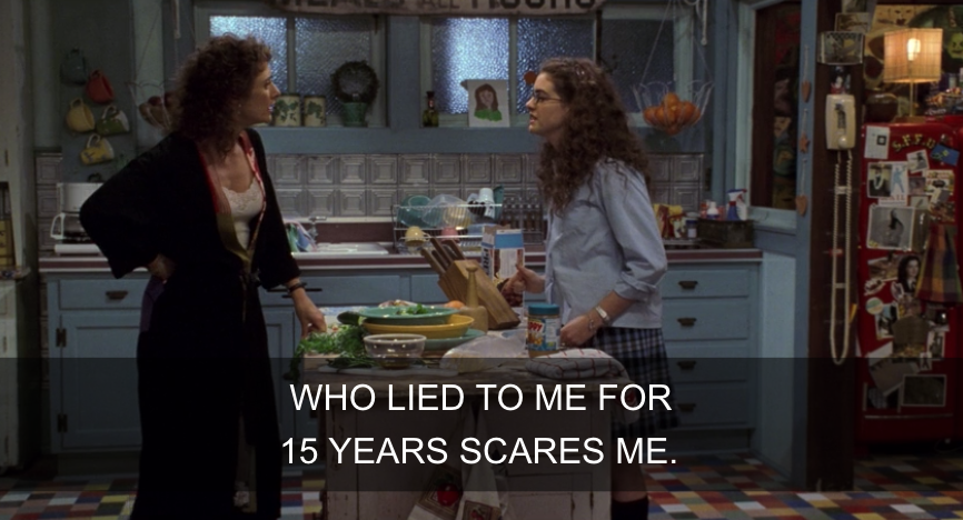 Mia confronting her mom about her awful decisions