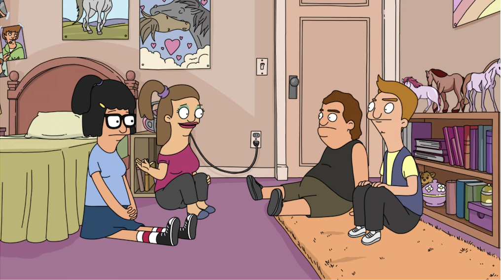 Tina's horse-themed room
