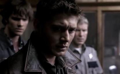dean has brows furrowed as if worried