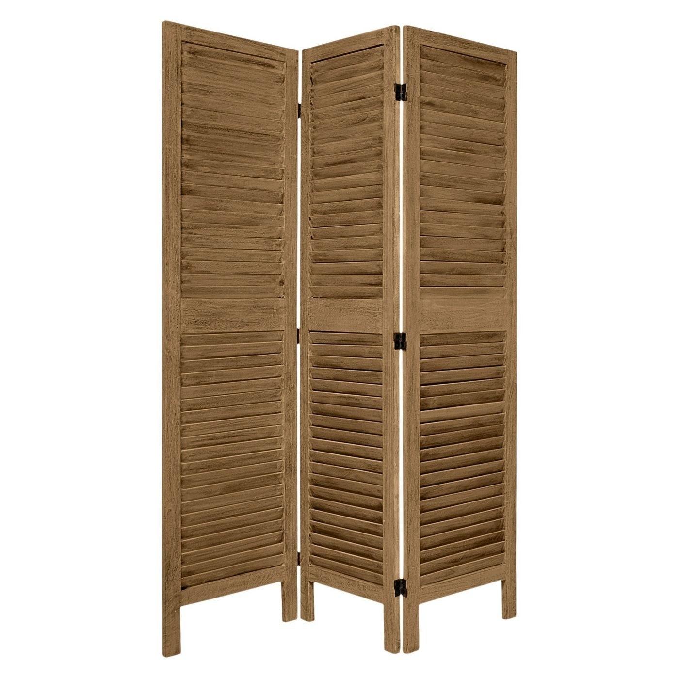 a three-paneled room divider