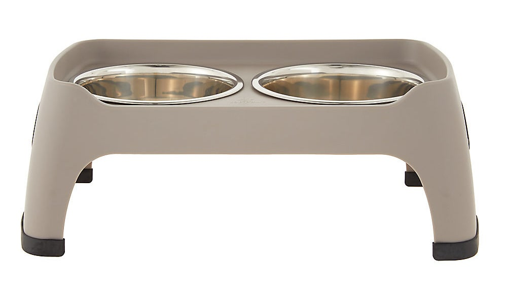 Theelevated double diner pet feeder
